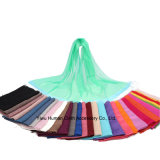 Tassels Spring Shawlの最も新しいStyle Fashion Silk Scarf