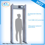 24 Zonas LCD Touch Screen Door Frame Metal Detector