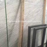 Mattonelle di marmo bianche di Volakas per le mattonelle del pavimento/parete/controsoffitto/mosaico