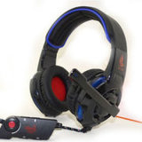 Bestes Sell Private Mode Stereo Gaming Headset mit LED