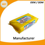 trapo mojado hecho en fábrica de Hand&Mouth de la categoría alimenticia del OEM 30PCS para el bebé
