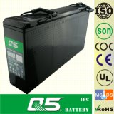 12V150サイズ(カスタマイズされた容量12V120AH)前部アクセスターミナルAGM VRLA UPS EPS電池コミュニケーション電池のキャビネット電池のテレコミュニケーションのプロジェクト