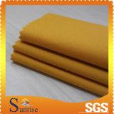 100% tessuto della saia spazzolato cotone 194GSM per vestiti