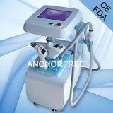 Ce profesional portable de la máquina de las celulitis del vacío del vacío Liposuction+Infrared Laser+Bipolar RF+Roller