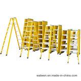 een frame 6 Ladder van de Glasvezel van het Huishouden van de Behendigheid van de Stap de Vouwbare