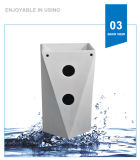 Раковина мытья тазика постамента мытья Weidansi керамическая (WDS-P7104)