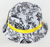 100% coton à la mode en plein air Fishman Bucket Hat