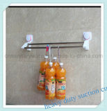 Полка рельса полотенца чашки всасывания ванной комнаты установленная сверхмощная