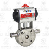 Heating Jacket One Piece Ball Valve