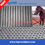 Cubicle Grooved Bottom Cow Mattress Mat / Cow Stall Rubber Flooring.