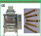 Máquina de empacotamento Multi-Lane do café/grânulo/açúcar/edulcorante/sal/especiaria da Vara-Forma