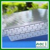 Lamiera sottile del policarbonato di rinforzo favo superiore dello Zhejiang Aoci