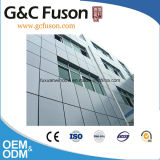Mur rideau en verre r3fléchissant structural en aluminium de qualité