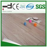 12mm glatte Oberflächenserien-hellgelber lamellierter Fußboden