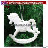 Ornamento feericamente das decorações de Santa do floco de neve dos Baubles do pendente da árvore de Natal (CH8103)