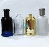Revestimento de galvanização geado pulverizador 100ml 25ml do frasco de vidro do perfume Ad-P42
