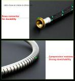 Boyau flexible d'acier inoxydable de salle de bains dans des accessoires sanitaires