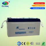 AGM Long Life 12V 150ah Gel Battery para Solar Street Light System