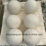 カスタマイズされた100%ウールドライヤーボール洗濯ガーメントボール
