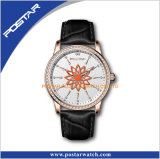 Hot Stainless Steel Fashion one and lady Quartz Wrist Watch