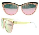 Occhiali da sole polarizzati colore luminoso all'ingrosso cinese dell'occhio di gatto di vetro di Sun