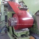 Colorer l'acier galvanisé plongé chaud enduit dans la bobine