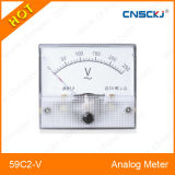 AC Rectangular Analog Voltmeter Voltage Meter 220V