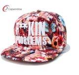 3D刺繍が付いているカスタム昇華印刷の急な回復の帽子