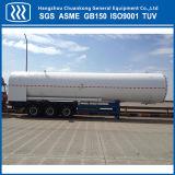 Do oxigênio líquido do nitrogênio do argônio do CO2 do gás do transporte petroleiro de estrada do reboque Semi