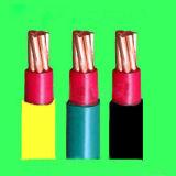 O núcleo de cobre XLPE (PVC) isolou o fio de cobre trançado finamente, cabo distribuidor de corrente Sheathed PVC protegido envolvido Contador-Pulso de disparo do motor da freqüência da tira do cobre (o fogo - resistente)