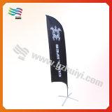 Bandeira de praia ao ar livre da bandeira do vôo do Teardrop da cor cheia (HY-AF567)