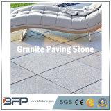Pedra de pavimentação cinzenta natural para ao ar livre, passagem do Bluestone/basalto/granito, jardim, pátio