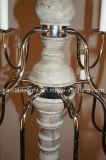 Освещение деревянного декоративного ретро канделябра привесное (KAGD9113-8+4)