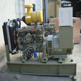 Cummins Engine 80kw 100kVA 6bt5.9-G1は深海コントローラが付いているタイプ海洋のディーゼル発電機を開く