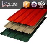 건축 건물 색깔 강철 기와에서 사용