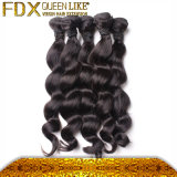 方法ヘアースタイルの緩い波の黒の人間の毛髪の製品
