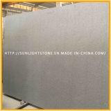 Azulejos de suelo grises grises barato flameados y pulidos del granito de G654/Pandang