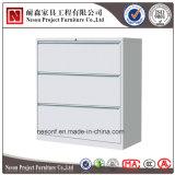 Mobília do gabinete do metal 3 do escritório camadas de gabinete de armazenamento (NS-ST089)