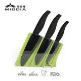 Utensilios de cocina para el conjunto de cerámica del cuchillo de cocina con el bloque