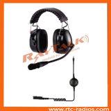Doppelohrenschützer-Geräusche, die den bidirektionalen Radiokopfhörer läuft Kopfhörer beenden