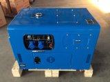 3kw 5kw 10kw 침묵하는 작은 공기 차가운 휴대용 발전기, 침묵하는 디젤 엔진 발전기