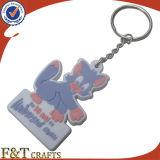 PVC feito sob encomenda maioria barato relativo à promoção Keychain da borracha 3D Animeal da forma