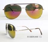 Óculos de sol piloto superiores recentemente revestidos do metal