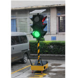 300mm 빨간 녹색 노란불 휴대용 태양 LED 신호등