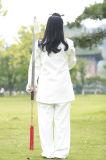 Tai Kleding van de Vrouwen van Kongfu van de Chi de Witte Hoogwaardige lang-Sleeved