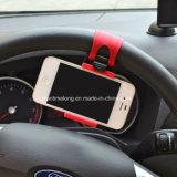 Sostenedores del teléfono móvil del sostenedor del montaje del volante del coche