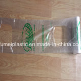 Sacchetto di plastica dell'imballaggio della maglietta di disegno della maniglia speciale su ordinazione di marchio