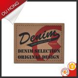 Высокое качество Wholesale Custom Leather Label Patch Китая Supply для Garment