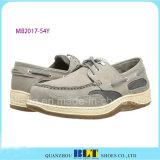 Chaussures chaudes de bateau de confort de cuir de vente