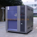 Cámara de pruebas de choque térmico de control digital programable tres zonas